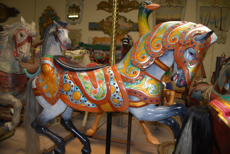 Pasadena Museum Carousel Figure Exhibit Carouselhistory Comcarouselhistory Com