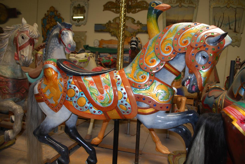 Pasadena Museum Carousel Figure Exhibit