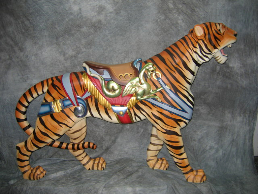 Historic-carousel-dentzel-tiger-restored