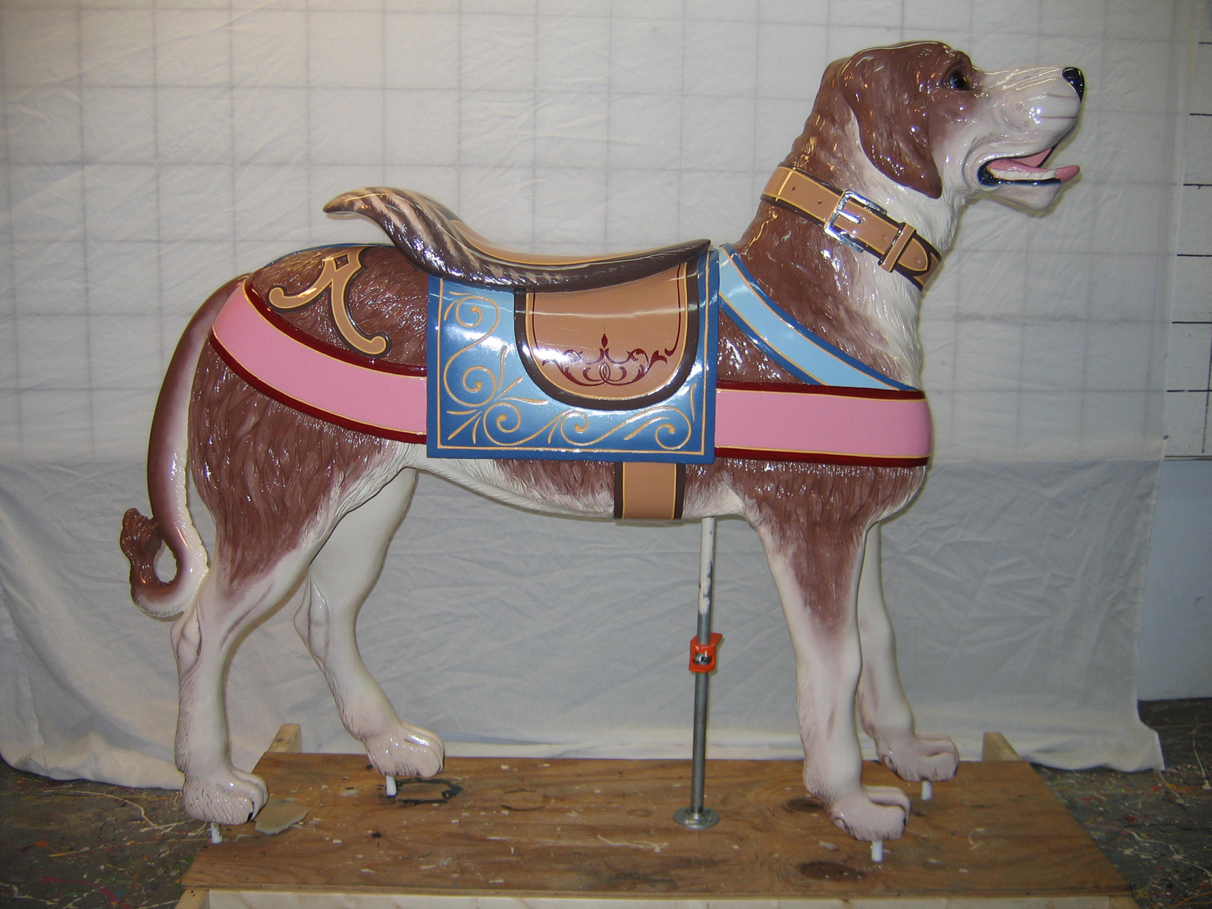 ca-1890-Looff-Broadway-Flying-Horses-carousel-dog-restored-2