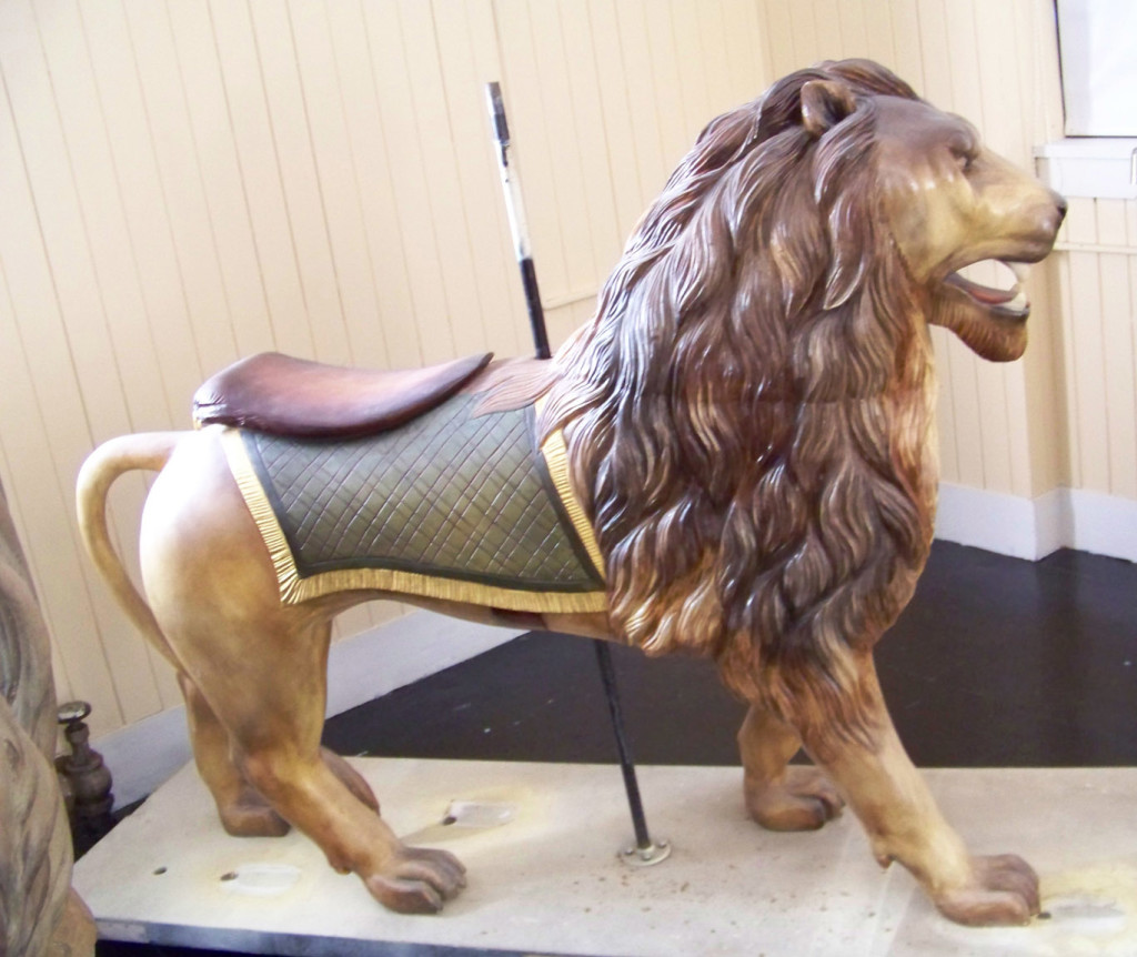A rare Dare lion, Lourinda Bray collection.