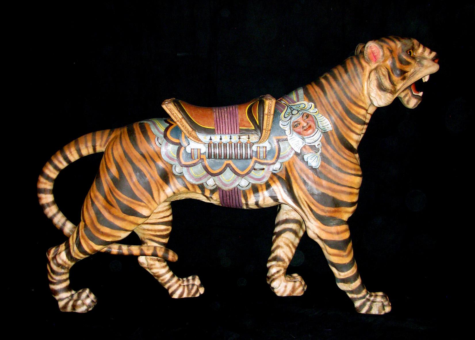 - CAROUSEL TIGERS -