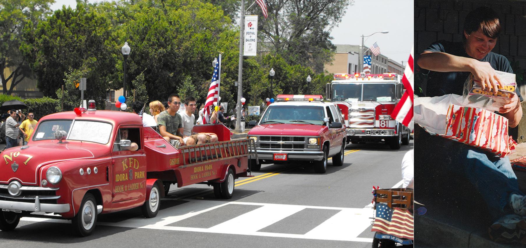 Idora Park Kiddie Fire Truck