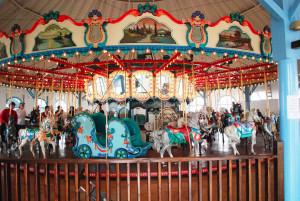 Santa Monica Pier 1922 PTC Carousel.