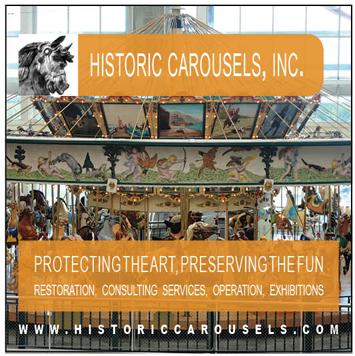HISTORIC CAROUSELS - RESTORATION - PRESERVATION
